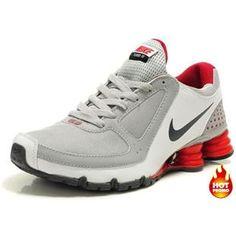 huge selection of d7fa5 0f201 Mens Nike Shox Turbo 10 Grey Red Black Mens Nike Shox, Top Basketball Shoes,
