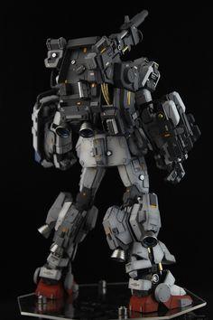 """Custom Build: MG Ground Type Gundam """"Base Attack Warfare Equipment"""" Gi Joe, Ground Type, Strike Gundam, Gundam Mobile Suit, Arte Robot, Unicorn Gundam, Gundam Custom Build, Frame Arms, Gundam Art"""