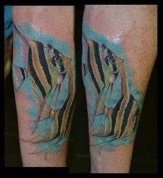 love the idea of a watercolor angelfish tattoo this is the best i rh pinterest com angelfish tattoo meaning angel fish tattoo