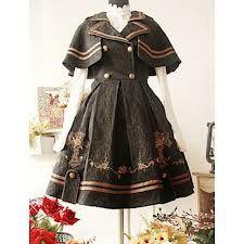 Detective lolita dress