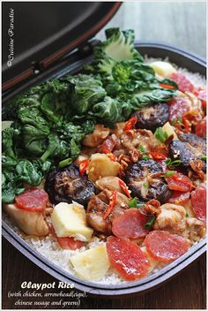 Cuisine Paradise | Singapore Food Blog - Recipes - Food Reviews - Travel: Happy Call Pan Recipes - Baked Sweet Potato, Sizzling Tofu and Claypot Rice