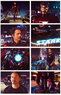 Tony arrives at Stark Tower