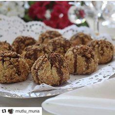 "310 Likes, 7 Comments - @kamilehaniminkizlari on Instagram: ""#Repost @mutlu_muna with @repostapp ・・・ Muhteşem lezzetiyle tarifi tekrar istenen bu kurabiyeler…"""
