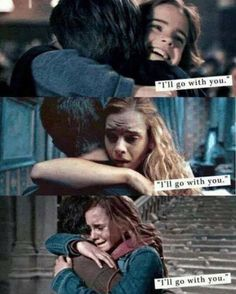 Harry and Hermione, the love of a brother and sister