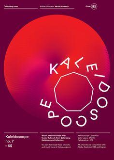 Colorpong.com – Promotional posters - Karol Gadzala – Graphic design & Art direction