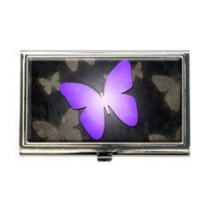 Purple Butterfly Butterflies Business Credit Card Holder Case Made on Terra http://www.amazon.com/dp/B00K1M3TBY/ref=cm_sw_r_pi_dp_6Eymub1ZXA789