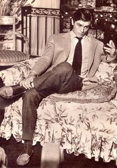 ALAIN DELON A nice boy to bring home to mother, but if she is pretty, beware…