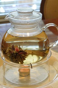 Blooming tea.....