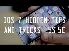 IPhone 5S / 5c And IOS7 Tips And Tricks
