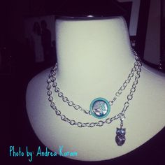 Try wearing the Over the Heart chain doubled up! Love this.  andreakaram.origamiowl.com