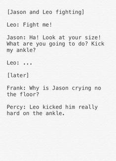 Yeah, Jason sucks. I'm not a team Leo fan but...he's MUCH better than Jason!