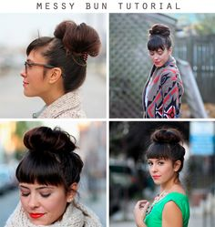 I actually like this messy bun. Usually not my thing.