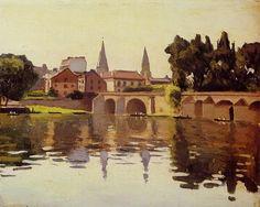 """Albert Marquet ~  """"Le Pont de Poissy"""""""