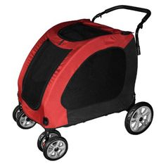 The burgundy Pet Gear Expedition Pet Stroller * You can get additional details, click the image : Dog strollers