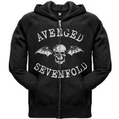 Avenged Sevenfold - Classic Deathbat Hoodie Sweatshirt