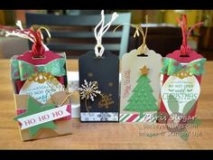 Connie-Rae | Note cards Envelopes and Holder all in One. Independent Stampin' Up! Demonstrator | - YouTube