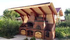 adelaparvu.com despre gratare zidite, design Gratarul Dragomir (4) Outdoor Kitchen Grill, Outdoor Barbeque, Outdoor Kitchen Design, Outdoor Cooking, Barbeque Design, Parrilla Exterior, Bbq House, Fire Pit Bbq, Rooftop Design