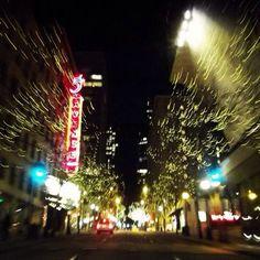 5th Avenue. Seattle. By Melissa Fletcher.