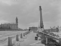 Kingstown (Dún Laoghaire), Dublin. Lawrence Collection: 1880-1910 Dublin Street, Dublin City, Old Pictures, Old Photos, Michael Church, Images Of Ireland, Photo Engraving, Al Capone, Digital Archives