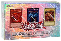 YuGiOh LEGENDARY COLLECTION Gameboard Edition Gods Cards LC01 $44.99 http://www.amazon.com/gp/product/B00GKD8J40?ie=UTF8&camp=1789&creativeASIN=B00GKD8J40&linkCode=xm2&tag=coloredsandz-20