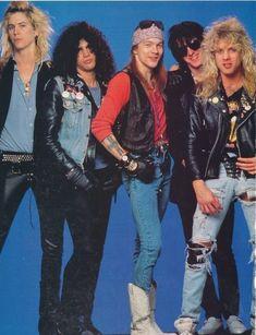 Axl Rose, Guns N' Roses, original line-up late '80s