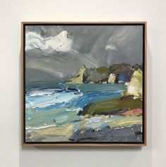 """Meanwhile back home """"Coast V"""" has just sold. When I get back to #Australia I can't wait to paint my beloved #coastline again!  . #creative #inspiration #artist"""