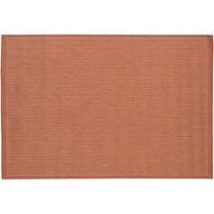 Couristan Saddle Stitch Indoor Outdoor Rug, Brown