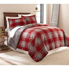 Allen Plaid Plush Comforter Set by Fraiche Maison - C1705080-T-ALAPLD