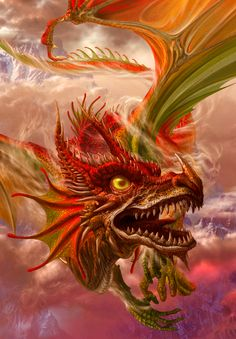 Photo of Dragon for fans of Mythical creatures 28582538 Dragon Heart, Fire Dragon, Magical Creatures, Fantasy Creatures, Fantasy Dragon, Fantasy Art, Dragon Horse, Dragon Tales, Fiction