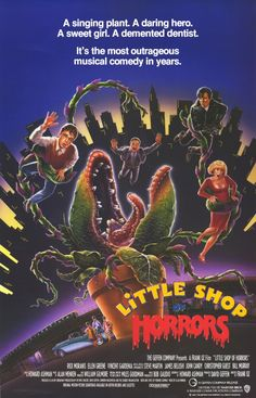 6/17/14 9:16p Warner Bros. Pictures ''Little Shop of Horrors'' Poster 1986 youtube.com