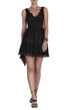 I almost bought this dress yesterday! I love it so much!! Willa Lace Dress | BCBG
