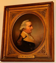 General William Whipple NH State House Portrait