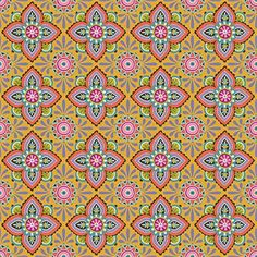 Ceramique in Marigold~ Folky Dokey Collection by Mary Tanana