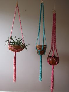 macrame and baskets