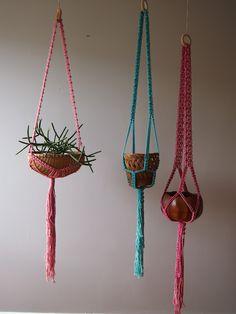 macrame and baskets