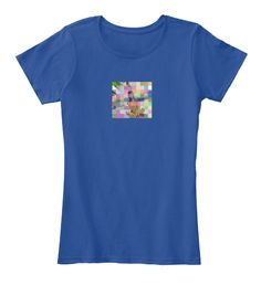 Inklicious Deep Royal  T-Shirt Front