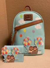 Disney Loungefly Pixar Up Backpack With Cardholder Brand New With Tag Cute Disney Outfits, Disney Themed Outfits, Disney Handbags, Disney Purse, Cute Mini Backpacks, Stylish Backpacks, Japanese School Bag, Disney Merchandise, Girls Bags
