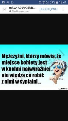 Weekend Humor, Keep Smiling, Man Humor, Good Mood, Haha, Funny, Text Posts, Polish Sayings, Ha Ha