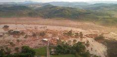 Resíduos sólidos do processo de mineração invadiram casas em um raio de pelo menos 60 quilômetros da cidade de Barra Longa