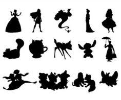 Disney silhouette tattoo ideas :)