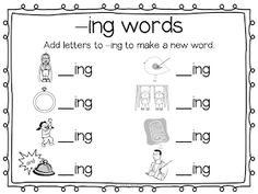 Phonics books for ed and ing words | On, To read and Book