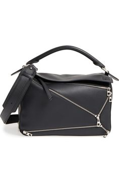 727ab5ad664b Loewe  Puzzle Zips  Calfskin Leather Bag available at  Nordstrom Puzzle  Bag