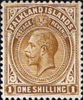 Falkland Islands 1912 King George V SG 62 Fine Mint Scott 32 Other Falkland Island Stamps HERE