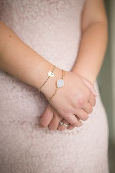 delicate jewelry as bridesmaids' gifts, photo by Katherine Stinnett http://ruffledblog.com/guanacaste-destination-wedding #bridesmaid #bracelet #jewelry