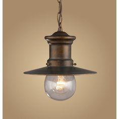 Westmore Lighting Bronze Outdoor Pendant Light Lowes $92