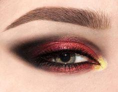 Pat McGrath's Phantom 002 Eye Makeup  #makeup #eyemakeup