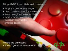A giant LEGO brick won't get stuck in your foot!