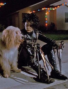 Johnny Depp as Edward Scissorhands 1990