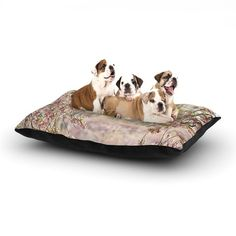 "Sylvia Cook ""Pink Dream"" Dog Bed 