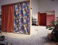 """Tropicália PN 2 e PN3"", de 1967, de Hélio Oiticica.  Art Experience NYC  www.artexperiencenyc.com/social_login/?utm_source=pinterest_medium=pins_content=pinterest_pins_campaign=pinterest_initial"